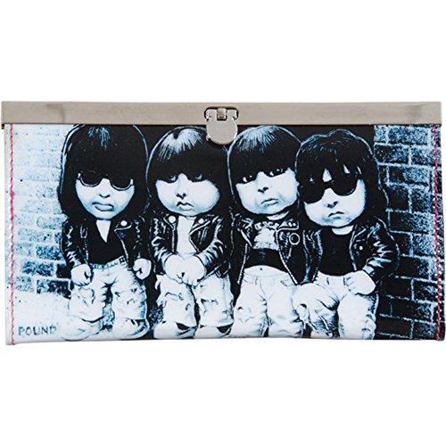 Ramones Women's Garbage Pail Girls Wallet Black - Ramones Wallet