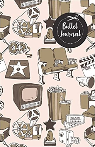 Bullet Journal Cute Cinema Movie Teather Doodle Drawing Pattern