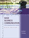 Basic Business Communication, Lesikar, Raymond Vincent and Flatley, Marie Elizabeth, 0072397616