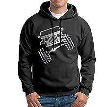 Men's Jeep Wrangler TJ Funny Viny Platinum Style Sweatshirt Hoodie