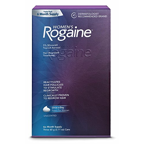 ROGAINE Minoxidil Regrowth Treatment Unscented