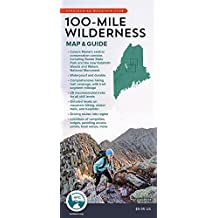 100-Mile Wilderness Map & Guide