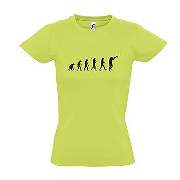 Damen T-Shirt - EVOLUTION - Jagd III Sport FUN KULT SHIRT S-XXL