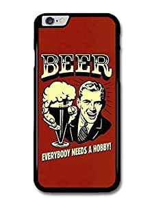 """AMAF ? Accessories Beer Everybody Needs a Hobby! Vintage Illustration case for iPhone 6 (4.7"""")"""