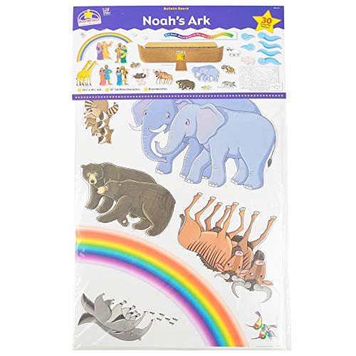 North Star Teacher Resources Noah's Ark Bulletin Board Set, Multi-colored, 30 Pieces