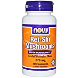 Cheap NOW Foods Rei-Shi Mushrooms — 270 mg – 100 Capsules