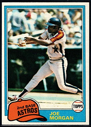 Baseball MLB 1981 Topps #560 Joe Morgan Astros ()