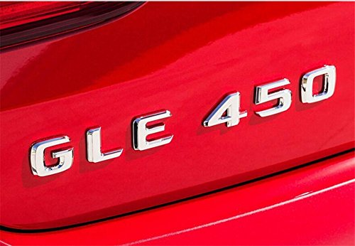 E665 GLE450 E450 Emblem Badge auto Emblems 3D Lettering Behind Car Sticker Plaque