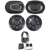 """(2) Polk Audio MM692 6x9"""" 900w 3-Way Car Audio Speakers+(2) Kicker 6.5 Speakers"""