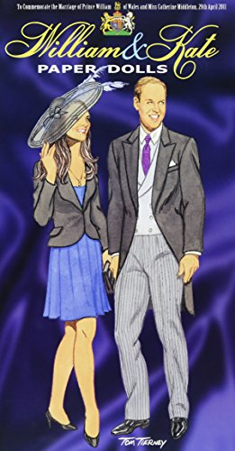 Princess Diana Prince William (William and Kate Paper Dolls: To Commemorate the Marriage of Prince William of Wales and Miss Catherine Middleton, 29th April 2011 (Dover Royal Paper Dolls))