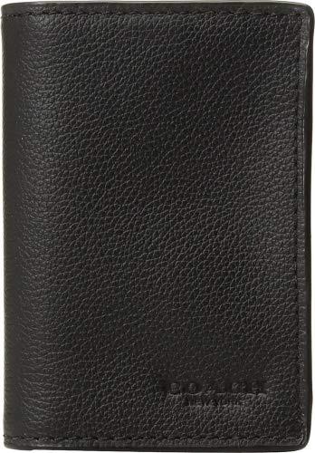 huge discount f6b98 279f6 Amazon.com: COACH Men's Bifold Card Case Black One Size: Shoes