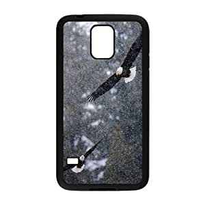 Bald Eagle Personalized Cover Case for SamSung Galaxy S5 I9600,customized phone case ygtg577851