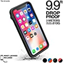 Catalyst impact protection case for iPhone X - Drop and Shock proof (Stealth Black) Slim Design + Premium Quality