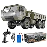 HIBRO RC Cars for Adults and Kids,Army Toys 1:12