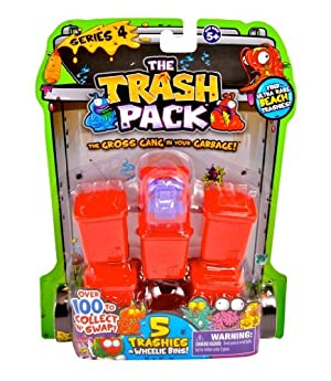 Trash Pack Series #4, 5-Pack by Trash Pack