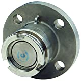 Dixon DDA150BRFL 1-1/2'' Dry Disconnect Adapter x 150# Flange, FKM Seals, 70 mm, 1.5'' ID, Brass