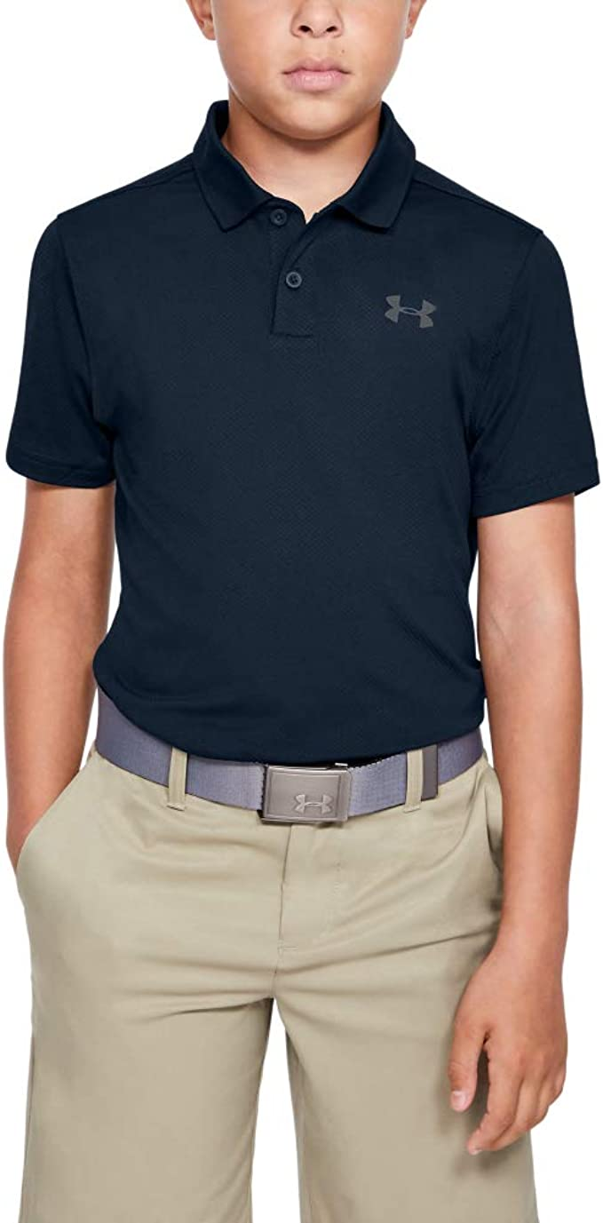 Ambiguo blanco como la nieve hipocresía  Amazon.com: Under Armour Boys Performance 2.0 Golf Polo Shirt: Clothing