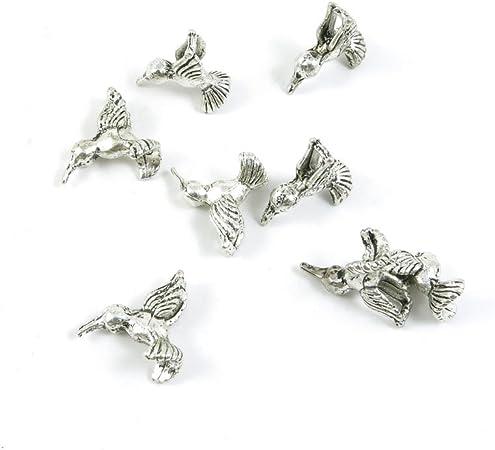 Antique Silver Tone Métal grande ancre mer Charms Pendentifs Perles Artisanat Cartes