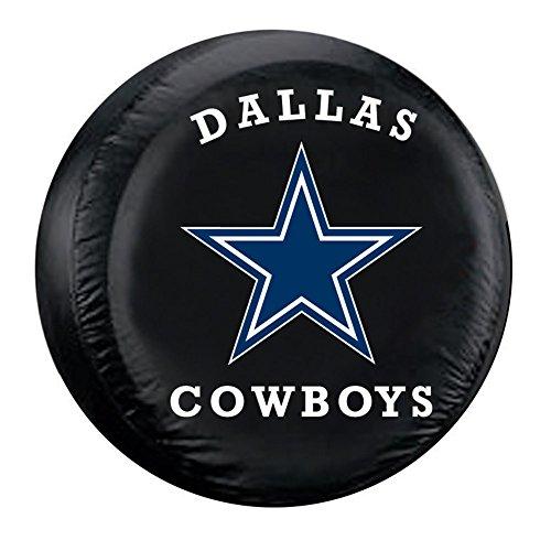 Fremont Die Dallas Cowboys NFL Spare Tire Cover (Large) (Black) FMT-98303 by Fremont Die