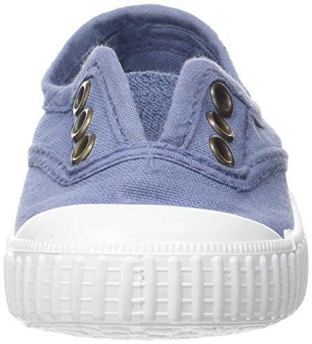 Unisex Lona Victoria Tintada Inglesa bimbi Punt Blu Sneaker nqqpXx5ar
