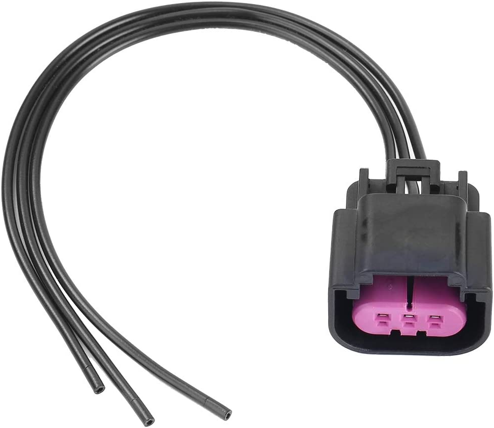 Qiilu Fuel Pressure Sensor Connector Pigtail Wire Fuel Composition for E85 13577394