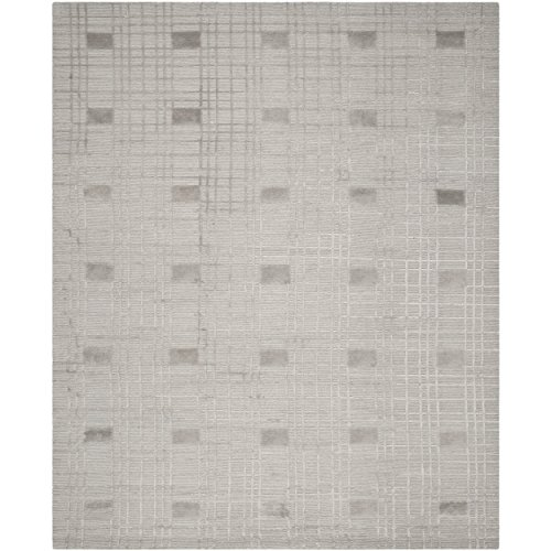 Safavieh Tibetan Collection TB120M Hand-Knotted Eucalyptus Wool Area Rug (9' x 12')