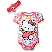 Hello Kitty Baby Girls' Gift Set, Dark Pink, 6-9 Months