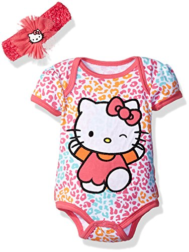 Hello Kitty Baby Girls' Gift Set, Dark Pink, 3-6 Months