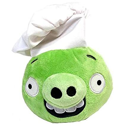 Buy Angry Birds Plush 6 Inch Pig With Chef Hat Online at Low Prices in  India - Amazon.in d87f20c6b5f7