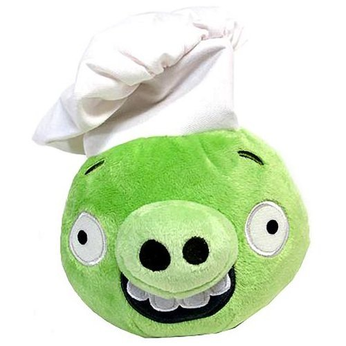 Angry Birds Plush 6 Inch Chef