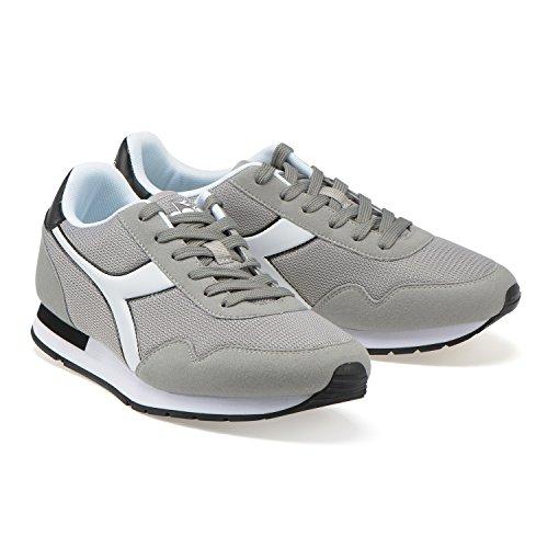 PALOMA NERO Diadora Breeze GRIGIO Uomo C3666 Sneaker q8PwqX