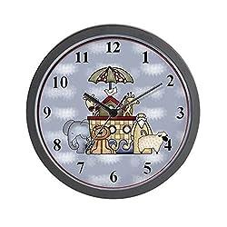 CafePress Noah's Ark Unique Decorative 10 Wall Clock