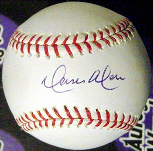 Moises Alou autographed baseball (OMLB Expos Astros Cubs Giants Mets All Star) ()