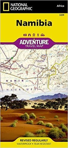Namibia (National Geographic Adventure Map) by National Geographic Maps - Adventure (2015-09-15)