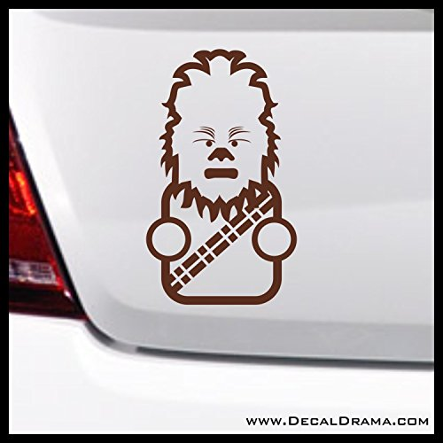 Baby Chewie Chibi Vinyl Decal