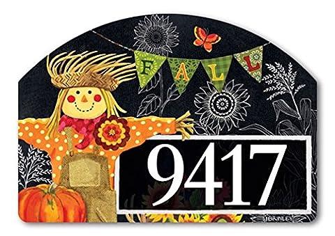 Yard DeSign Burlap Scarecrow Yard Sign #71221 - Magnetic Yard