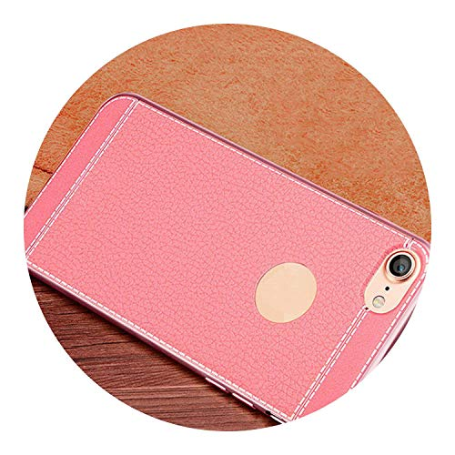 Pursuit-of-self Gold Plated Case for iPhone 6S 6 7 8 Plus 5S 5 SE Cover,Pink,for iPhone 8