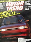 1990 1991 Mercury Tracer / Nissan 240 SX / Isuzu Impulse / Cadillac Brougham / Porsche 928 GT / Hyundai Scoupe Road Test