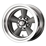 """American Racing Hot Rod TTO VN309 Painted Gray Wheel with Machined Lip (17x8""""/5x127mm)"""