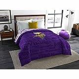NFL Anthem Twin/Full Bedding Comforter Only, Minnesota Vikings