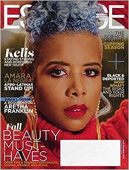 70421fe83e ESSENCE Magazine October 2018 KELIS Cover