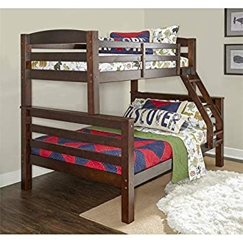 Powell D1046Y16 Bunk Bed, Twin Full, Espresso
