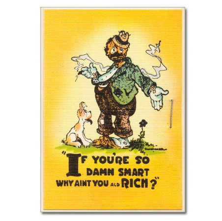 If You Are So Damn Smart Why Aren't You Rich Funny Vintage Vinyl Sticker - Car Phone Helmet - SELECT - Snowboard Old School Helmet