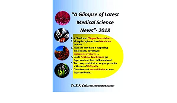 A Glimpse of Latest Medical Science News