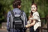 Iconic Pet Furrygo Luxury Pet Travel Backpack/Carrier, Dark Grey
