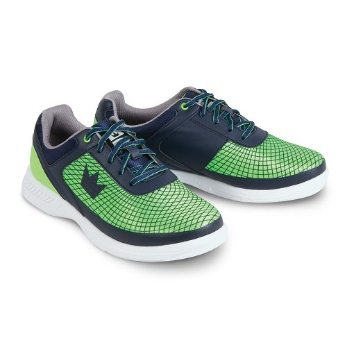 Brunswick Frenzy Mens Bowling Shoe Navy/Green, 8.0