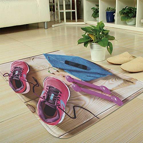 YOLIYANA Non-Slip Mat,Fitness,for Bathroom Kitchen Bedroom,35.43