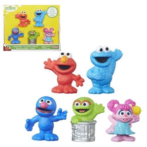 (Sesame Street Seasame Street 5 Figure Gift Pack Toy)