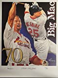Mark McGwire Unsigned 18x24 Poster St Louis Cardinals 70 Home Runs Oakland A's