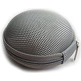Domire Carrying Hard Case Bag for Earphone Headphone Gray